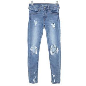 American Eagle Super Jegging Skinny Stretch Jeans